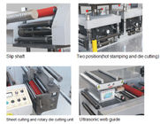 Trio System Motion Controller Intelligent Servo PLC Auto Web Guide 24000 Times/H 7200M/H High Speed Die Cutter Machine