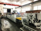 Bottom Gluing Paper Carry Bags Machinery With Cardboard , Bag Making Equipment