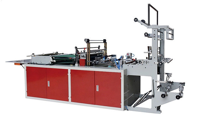BOPP Side Sealing Bag Making Machine , Plastic Bag Manufacturing Equipment